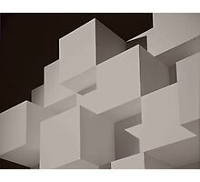 Cubes On Cubes Photographic Print