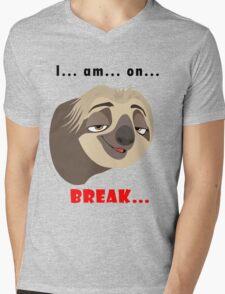 Flash Q Mens V-Neck T-Shirt