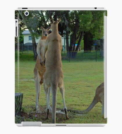 Unacceptable behaviour in Suburbia  iPad Case/Skin