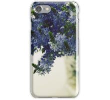 Blue flowers iPhone Case/Skin