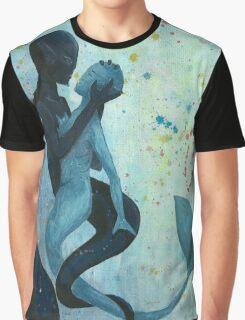 Mermaid Struggle Graphic T-Shirt