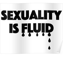 Sexuality is Fluid Poster