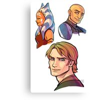 TCW In Happier Times ver.2 Canvas Print