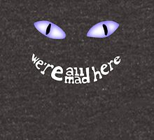 cheshire cat and Mushrooms we're all mad here Unisex T-Shirt