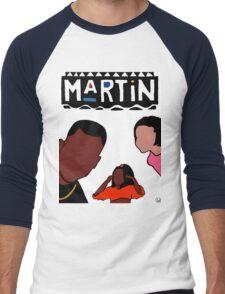 Martin (White) Men's Baseball ¾ T-Shirt