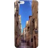 An Alley in Dubrovnik iPhone Case/Skin