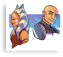 TCW In Happier Times - Snips & Rexter Canvas Print