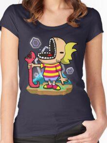 PK FREEEEZE! Women's Fitted Scoop T-Shirt