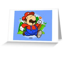 Classic Plumber! Greeting Card