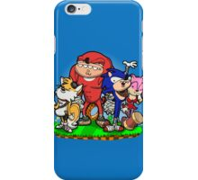 Sanic Bam! iPhone Case/Skin
