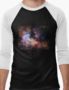 Deep Space Nebula Galaxy Men's Baseball ¾ T-Shirt