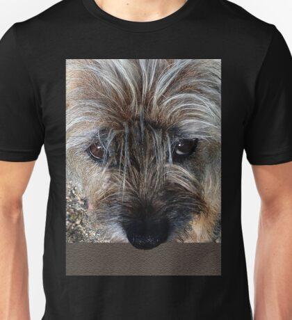 Border Terrier portrait Unisex T-Shirt