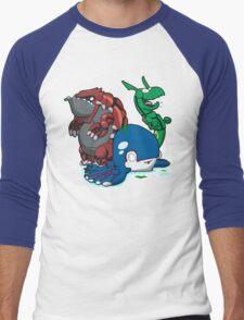 Number 382, 383 & 384! Men's Baseball ¾ T-Shirt