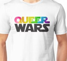 Queer Wars Rainbow Stars Parody  Unisex T-Shirt