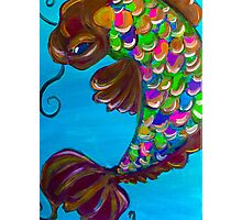 lucky fish (bright) Photographic Print