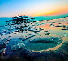 Brighton Low Tide #1 by Emma Bennett