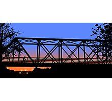 One Tree Hill Bridge Photographic Print