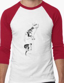Momo as Inugami Men's Baseball ¾ T-Shirt