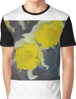 Daffodil Art Graphic T-Shirt