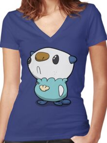 Number 501! Women's Fitted V-Neck T-Shirt