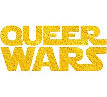 Queer Wars LGBT Parody  Photographic Print
