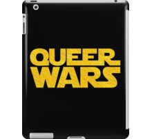Queer Wars LGBT Parody  iPad Case/Skin