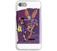 batgirl and killer moth  iPhone Case/Skin