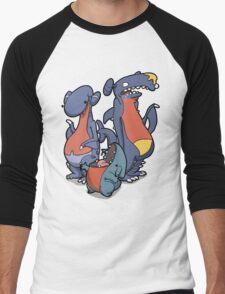 Torpedo Sharks! Men's Baseball ¾ T-Shirt