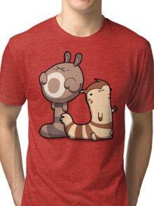 Furry Ferrets Tri-blend T-Shirt