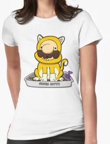 Super Meowrio! Womens Fitted T-Shirt