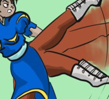 Street Fighter- Chun Li Sticker
