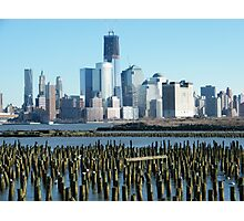 World Trade Center, Lower Manhattan, View from Hoboken, New Jersey Photographic Print