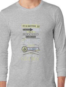 An Echo of Glory Long Sleeve T-Shirt