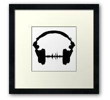 Music is Life Framed Print