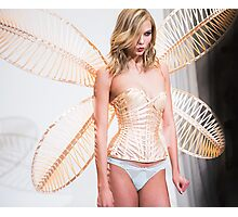 karlie corset and wings Photographic Print