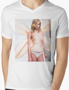 karlie corset and wings Mens V-Neck T-Shirt