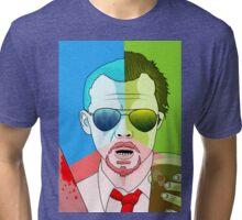 anyone fancy a cornetto? Tri-blend T-Shirt