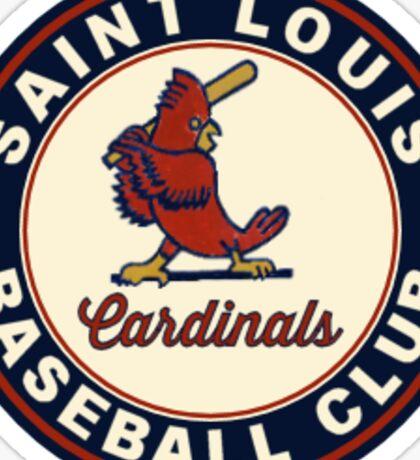 cardinals old Sticker