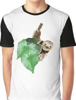 Jungle sloth Graphic T-Shirt