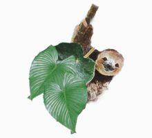 Jungle sloth Kids Tee