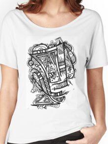 TikiOgre Abstract Zen Design Women's Relaxed Fit T-Shirt