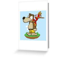 Banjer & Kazooper! Greeting Card