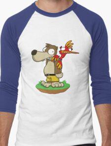 Banjer & Kazooper! Men's Baseball ¾ T-Shirt