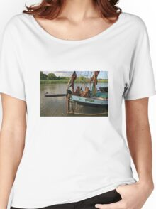 Cygnet, Snape Maltings Women's Relaxed Fit T-Shirt