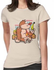 That's not how you eat a banana! Womens Fitted T-Shirt