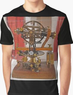 Old Theodolite Graphic T-Shirt