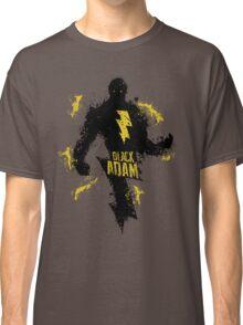 Black Adam Splatter Art Classic T-Shirt