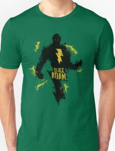 Black Adam Splatter Art Unisex T-Shirt