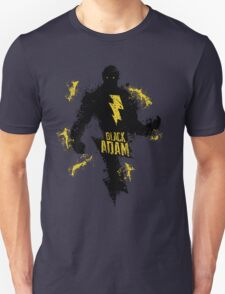 Black Adam Splatter Art T-Shirt