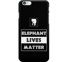 Elephant Lives Matter iPhone Case/Skin
